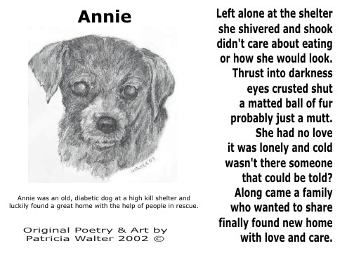 Annie Poetry & Art by Patricia Walter