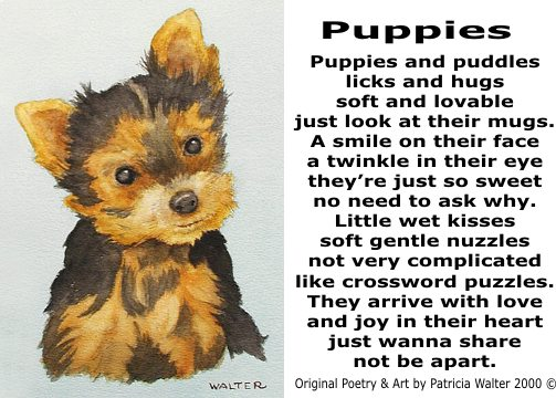 Poems About Puppies